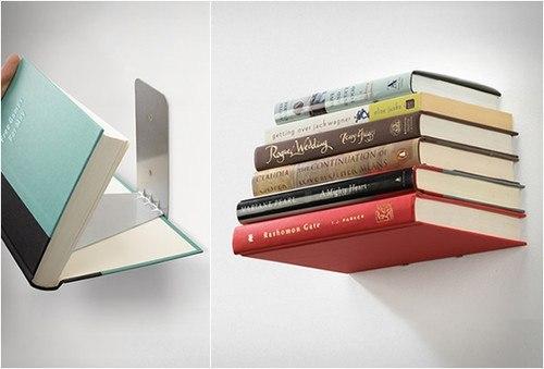 Etagère invisible pour les livres