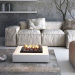 Canapé blanc des modules individuels faites-le vous-même