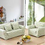 Canapé et fauteuil à fleurs faites-le vous-même