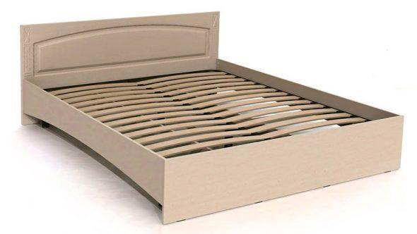 Cadre de lit en bois aggloméré