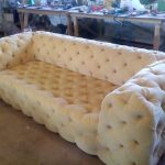 Canapé moelleux avec bricolage à quatre voies