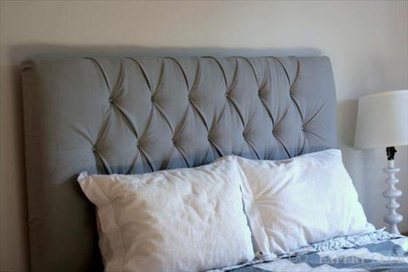 Tête de lit douce