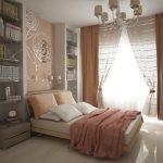 Arrangement de meubles pour une petite chambre