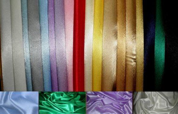 Solutions de couleur satin