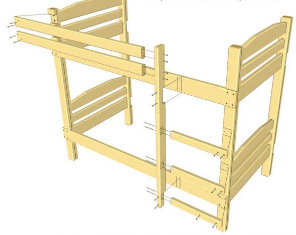 Construire les escaliers