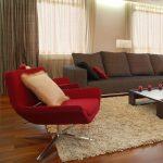 Canapé gris avec coussins carrés faites-le vous-même