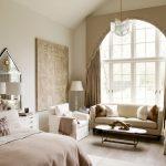 Chambre élégante dans des tons beiges