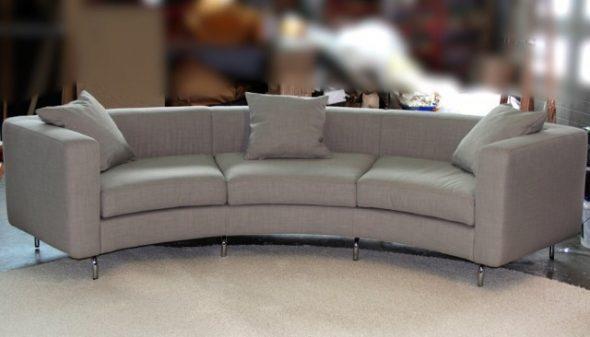Canapé arrondi