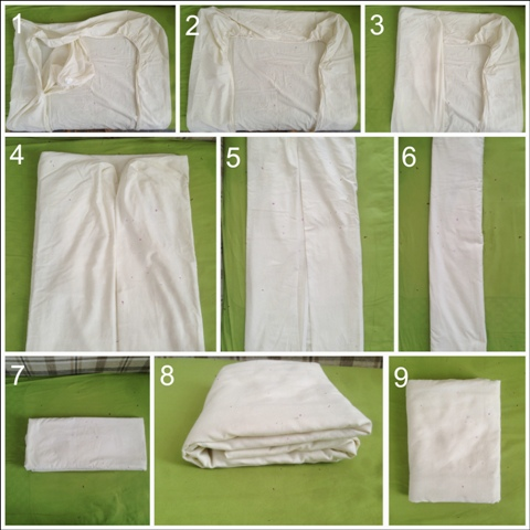 Un moyen facile d'étirer les draps