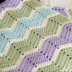 Des zigzags simples pour un beau tapis