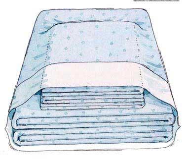Tous ensemble dans une taie d'oreiller