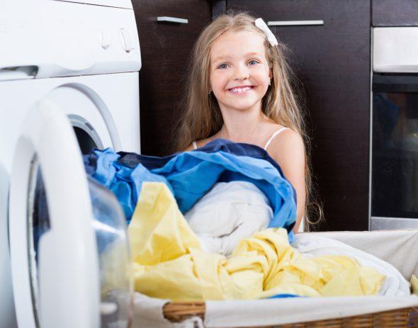 Laver les vêtements de bébé
