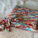 Couverture douce en peluche pour enfants de couleurs inhabituelles