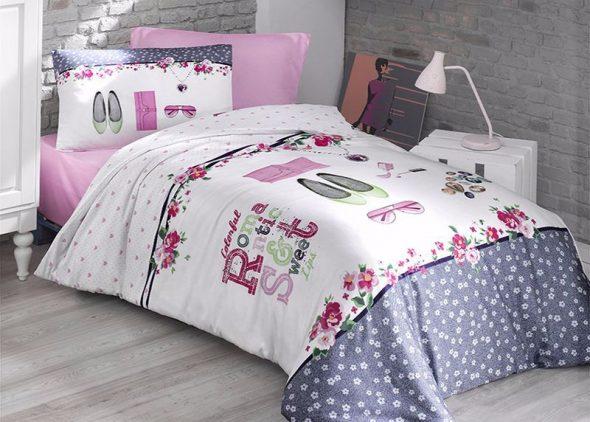 Ensemble de lit délicat pour les filles