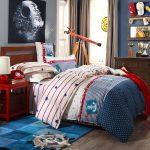 Couverture pour un lit d'adolescent