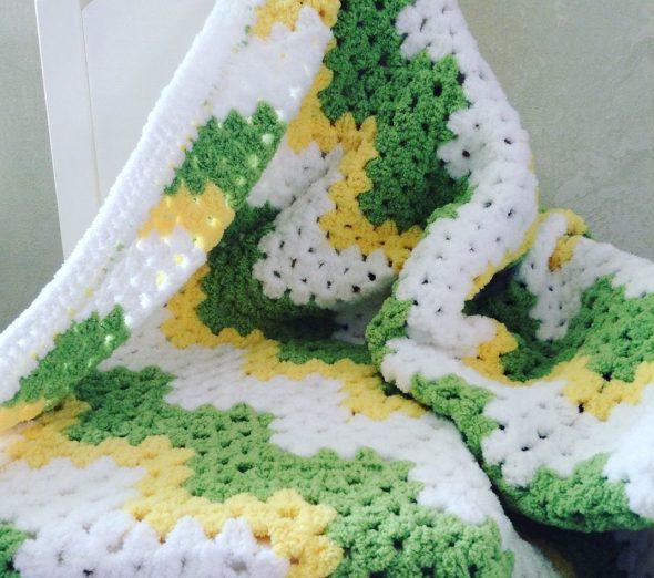 Peluche bébé couverture