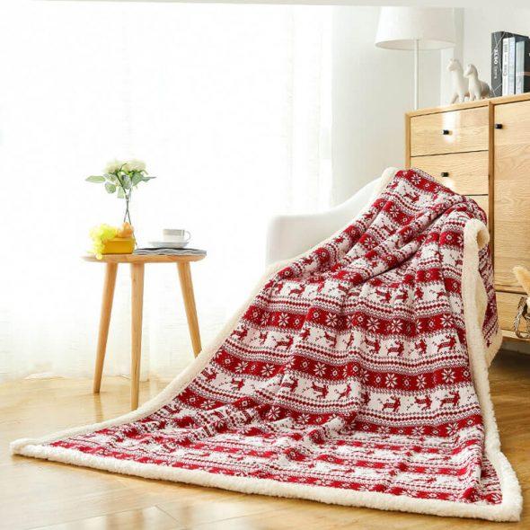 Couvertures en laine belles et confortables