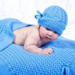 Couverture tricotée pour les plus petits