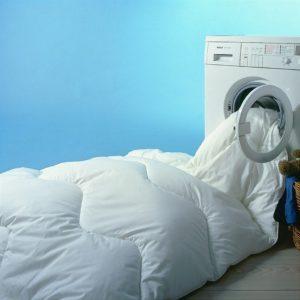 Chargement de la machine à laver