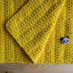 Couverture en peluche jaune faites-le vous-même