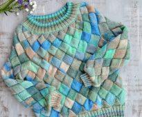 Le tricot à la manière des enterlak