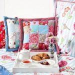 Provence slaapkamer - kussen ontwerp