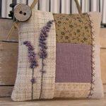 Decoratief hoofdkussen met lavendel