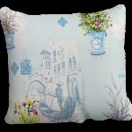 Decoratief Provence kussen met een mooie print