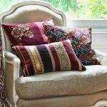 Decoratieve kussens voor de stoel
