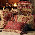 Decoratieve kussens in oosterse stijl