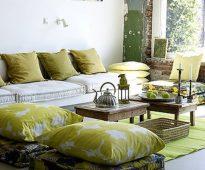 Vloerkussens voor rust en ontspanning