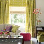 Contrasterende kleuren voor decoratieve elementen.
