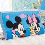 Mooi kussen met Mickey voor de wieg