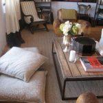 Mooie en comfortabele vloerkussens voor de gasten