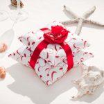 Linten en strikken - als decoratieve elementen kussens voor ringen