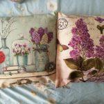 Leuke kleine stootkussens voor decor van de Provence