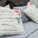 Mooie romantische kussens voor decor
