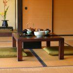 Kussen in Japanse stijl