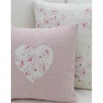 Zachte roze kussens in de stijl van de Provence