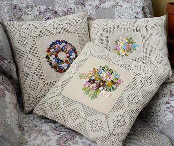 Romantisch borduurwerk Provence