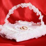Bruiloft kussen