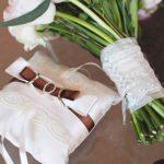 Kussen voor ringen met strikhouder