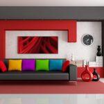 Regenboogkleuren voor kussens - de originele oplossing