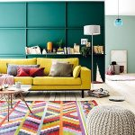 Multi-gekleurde kussens - als een helder accent in het interieur