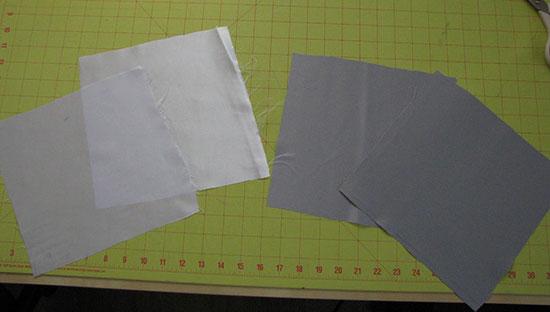 Vierkanten van atlas snijden