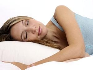 Comfortabele houding voor slaap