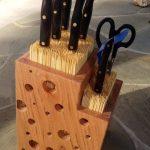 staan voor messen DIY design decor