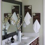 handdoekenrek in de badkamer interieurideeën