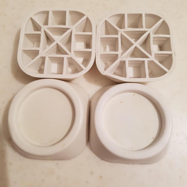 Supports anti-vibrations pour la conception de machines à laver