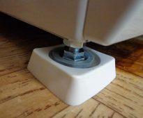 Anti-vibratie standaard voor wasmachine foto